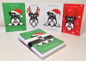 Festive Faces range of cards