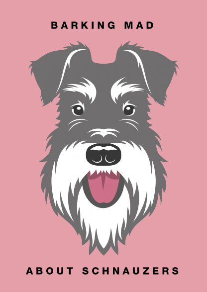 Barking mad about schnauzers salt and pepper