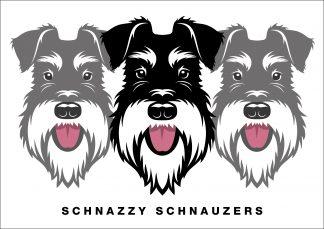 schnazzy schnauzers poster