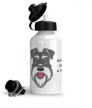 Salt & Pepper water bottle big face